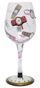 Amazon.com: Lolita Love My Wine Glass, 5 O'clock Somewhere: Kitchen & Dining