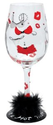 Amazon.com: Lolita Love My Wine Glass, Hot Mama: Kitchen & Dining