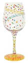 Amazon.com: Lolita Love My Wine Glass, Congratulations: Kitchen & Dining