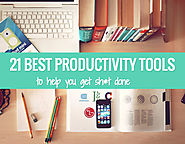 The 21 Best Productivity Tools To Add More Hours To Your Day