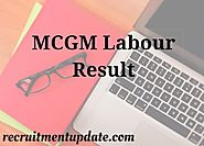 MCGM Labour Result 2018 Check BMC 1388 Group D Vacancy Results