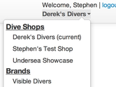 Visible Divers | Scuba Dive Center Point of Sale, Inventory | Dive Log