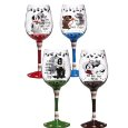 Wine Glasses with Initials