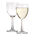 Bulk Luminarc Clear Wine Glasses with Facet-Cut Stems, 8.5 oz. at DollarTree.com