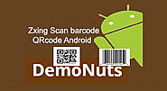 Scan Barcode And QRcode Using Zxing Android Studio Programmatically