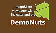 Image Slider With Slideshow Using Viewpager Android Studio Example