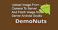 Upload Image From Camera In Android Studio To PHP Server Example