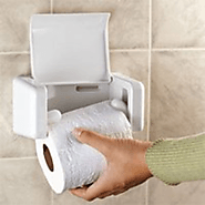 EZ-Load Toilet Paper Holder