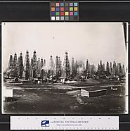 Primary Background Photo Oil Field in Beaumont, Texas, 1901 - The Portal to Texas History