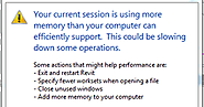 Increase Virtual Memory to Boost Revit Performance