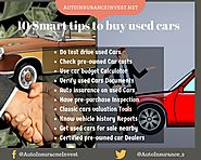 10 Smart tips to buy used cars to avoid scams | Auto Insurance Invest