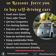 10 Reasons force you to buy self-driving cars in 2018 | Auto Insurance Invest