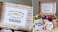 Bridesmaid Proposal Ideas - Bridesmaid proposal gifts, sayings & tips!