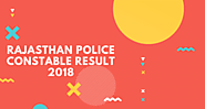 Rajasthan Police Result 2018 - 2019 Constable Post Date (Driver, GD)Cut off