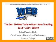 The Best Web 2.0 Tools to Boost Your Teaching