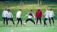 IMAGES: Manchester City gearing up ahead of Everton trip