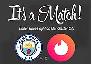 Dating app Tinder and Manchester City signed a multi-million pound partnership