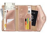 Protect Your Credit Card Info - Mulit-purpose RFID Blocking Travel Passport Wallet