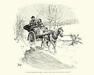 Image of horse draw carriage