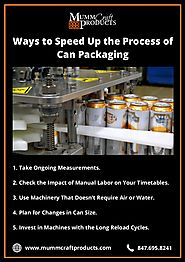 Ways to speed up the process of can packaging