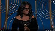 Oprah's Golden Globes Speech