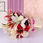 Buy/Send Say it with Flowers Online - YuvaFlowers.