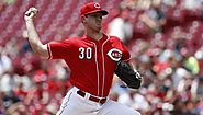 Young Reds pitcher Mahle tough on hitters, tougher on himself