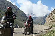India Backpack Motorbike