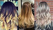 Difference Between Ombré, Sombre & Balayage