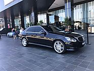 Is a limo service available from the Melbourne airport?