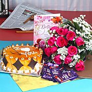 Buy/Send Dairy Milk Chocolates Love Token for Your Birthday - YuvaFlowers