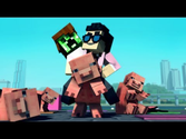 """Minecraft Style"" - A Parody of PSY's Gangnam Style (Music Video)"