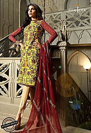 Asim Jofa UK Women`s Clothing Collection 2018