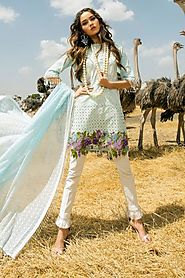 SANA SAFINAZ LAWN COLLECTION 2018 - 5B