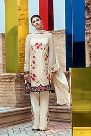 Unstitched Suits For Women | Silk | Lawn | Chiffon | Cotton in UK