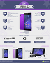 Maxabout Infographics: Sony Xperia Z2