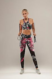 Fitness Graffiti legging – Escapar Active