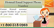 Hotmail Customer service Number +1-800-518-0963