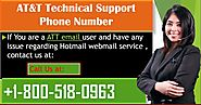 Change AT&T email Account password at +1-800-518-0963