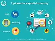 Top industries who adopted microlearning - CHRP-INDIA