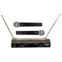 Amazon.com : PylePro PDWM2500 Dual VHF Wireless Microphone System : Electronics