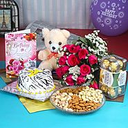 Send Perfect Birthday Gift Hamper Same Day Delivery - OyeGifts