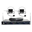 Amazon.com : Pyle-Pro PDWM4300 4 Mic VHF Wireless Rack Mount Microphone System : Musical Instruments