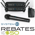 System 10 Wireless Rebates