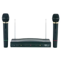 Amazon.com : Naxa NAM-984 Dual Handheld Wireless Microphone Starter Kit with Wireless FM Receiver : Wireless Micropho...