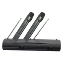 Amazon.com: Pyle-Pro PDWM2100 Professional Dual VHF Wireless Handheld Microphone System: Musical Instruments