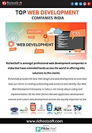 Best Web Development Company in India 2018-Richestsoft | A Listly List