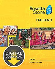 Rosetta Stone Italian Level 1-5 Set for Mac [Download]