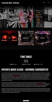 Private Mens Clubs
