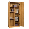 Amazon.com: Oak Home or Office Storage Cabinet Organizer - Great as a Kitchen Food Pantry + Grocery Storage for Extre...